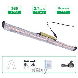 1500W LED Grow Light Bar Full Spectrum For All Stage Indoor Plants IP65 0 Noise