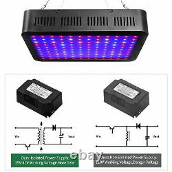 2000W LED Grow Light Full Spectrum with 60x 60x 80 Indoor Plant Grow Tents Room