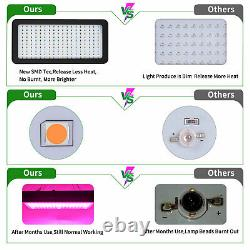 2000W Led Grow Light Plant Light Kit + 5' x 5' Hydroponics Indoor Grow Tent