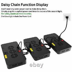3000W Led Grow Light Kit Plant Light with 5' x 5' Hydroponic Indoor Grow Tent Box