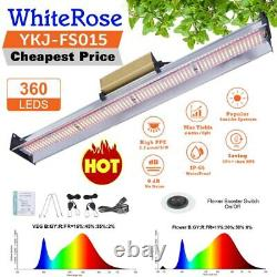 360pcs Leds Grow Light Dual Full Spectrum 1500W LED Growing Bar For Indoor Plant