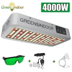 4000W LED Plant Grow Light for Indoor Sunlike Full Spectrum Timing Grow Lamp x1