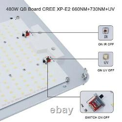 600w Samsung LM301H with Cree and LG Quantum Board LED Grow Light Replace HPS