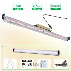 9000W LED Grow Light Bar Full Spectrum For All Stage Indoor Plants IP65 0 Noise