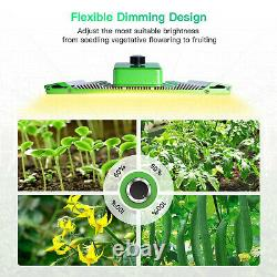 BESTVA PRO-1000W Quantum LED Grow Light MeanWell Driver Samsung LM301B Dimmable