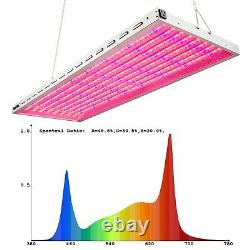 DUROLUX DLED8048VG LED GROW LIGHT 4 X 1.5 FOOT 200W Red White Blue 40000 LUX