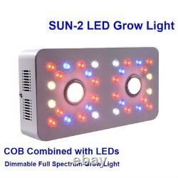 Dimmable SUN II 1000W COB and Double Chips LED Light Full Spectrum Grow Light