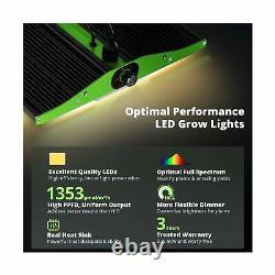 Grow Light VIPARSPECTRA 2020 Pro Series P1500 LED Grow Light Upgraded SMD LEDs