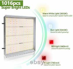 Mars Hydro TS 600W Led Grow Light For Indoor Plants Large Commercial Grow Lights