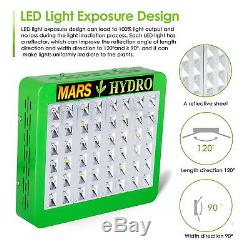 Mars Reflector 300W Hydro Full Spectrum Led Grow Light for All Indoor Grow Stage