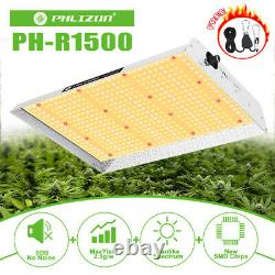 Phlizon 1500W Dimmable LED Grow Light Sunlike Full Spectrum for Indoor Plants UL