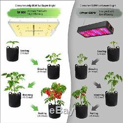 SF 600W LED Grow Light Full Spectrum Samsung LM301B Diodes For Indoor VEG Bloom
