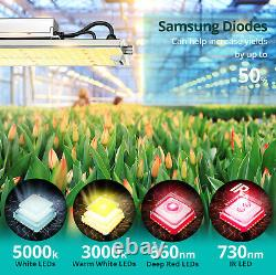 Senelux LED Grow Light Dimmable Full Spectrum Samsung Diode XS2000 XS4000