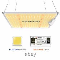 Spider Farmer Sf-1000 Led Grow Light With Samsung Chips Lm301B Dimmable Meanwe