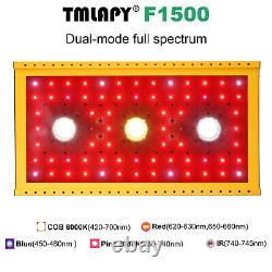 TMLAPY COB 1500W LED Grow Light Full Spectrum Veg Flower Indoor Plants