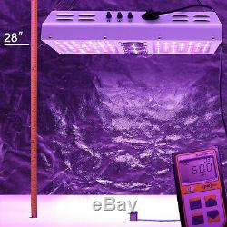 VIPARSPECTRA PAR700 700W LED Grow Light Full Spectrum for Indoor Plant Veg/Bloom