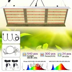 WhiteRose Full Spectrum 6000W LED Grow Light Hydroponics Lamp For Indoor Plant
